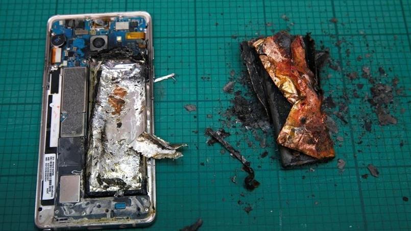 Cet été, l'explosion de Galaxy Note 7 avait causé le retrait de ce modèle du marché.