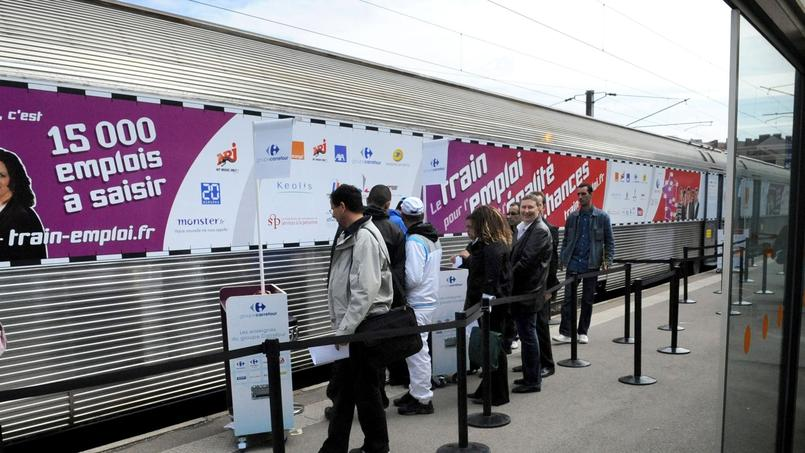 Le train pour l'emploi à Metz le 8 Novembre