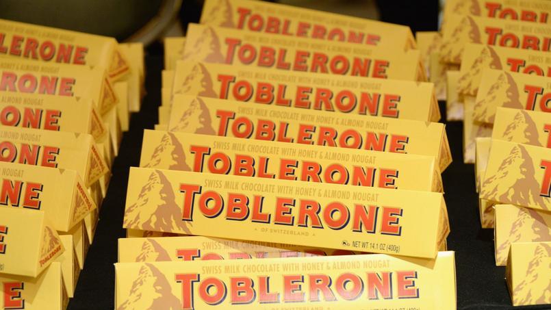 Cure de minceur pour le Toblerone au Royaume-Uni
