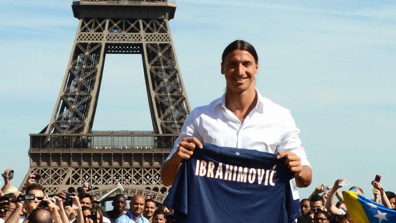 En quatre ans à Paris, Zlatan Ibrahimovic n'a jamais visité la Tour Eiffel.
