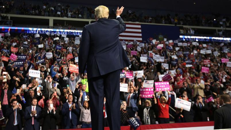 Donald Trump en meeting à Hershey, en Pennsylvanie, le 4 novembre dernier.