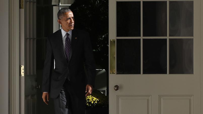 L'électrochoc de la victoire de Donald Trump est un cruel camouflet pour Barack Obama, élu il y a huit ans à la Maison Blanche. Photo prise le 8 novembre 2016, avant les résultats de l'élection présidentielle.