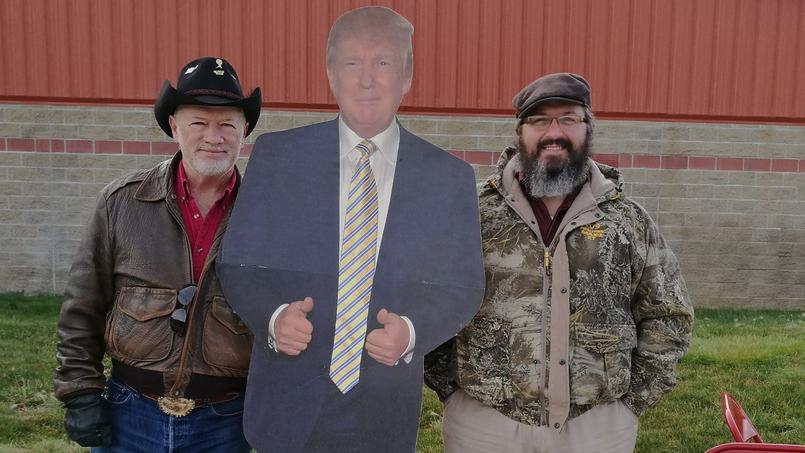 Trump a de nombreux fans dans le Montana.