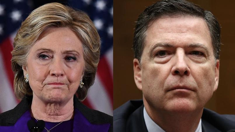 Le directeur du FBI James Comey a joué un rôle décisif en relançant par une lettre au Congrès l'affaire des e-mails le 28 octobre.
