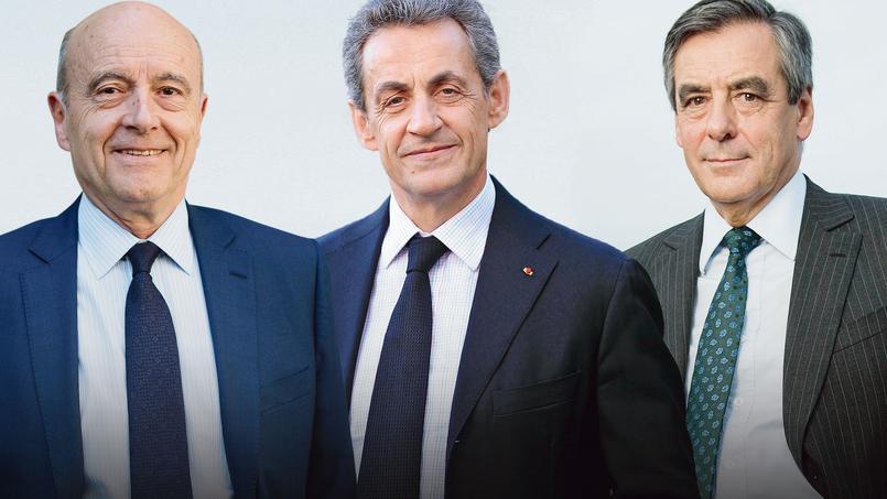Alain Juppé, toujours en tête, n'est plus crédité que de 36% des suffrages dans l'hypothèse d'une participation autour de 3,9millions d'électeurs. Nicolas Sarkozy gagne deux points à 30% et François Fillon réalise la plus forte progression avec 18% des intentions de vote.
