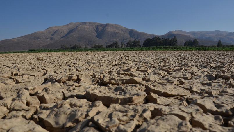 Le lac asséché de La Angostura, en Bolivie, en septembre dernier.