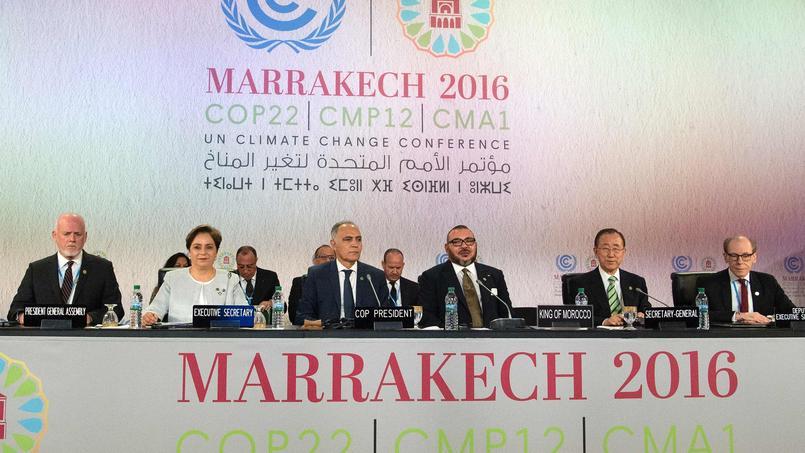 55 chefs d'État et de gouvernement étaient présents mardi 15 novembre à Marrakech pour le début des négociations politiques.