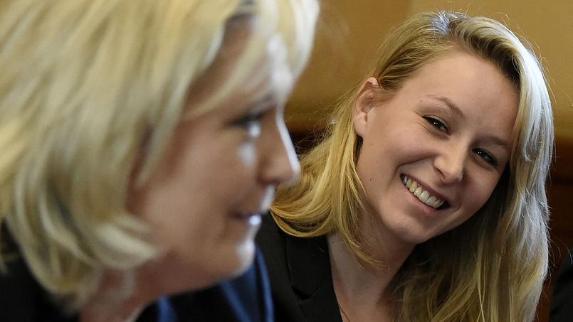 Marine Le Pen et sa nièce Marion Maréchal-Le Pen