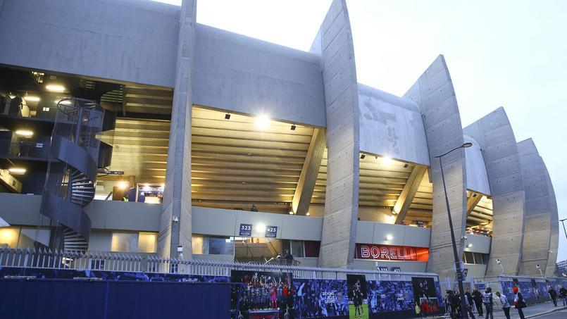 Le Parc des Princes, stade du Paris SG.