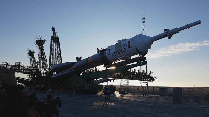 Retrouvez les coulisses du départ du spationaute Pesquet vers l'ISS