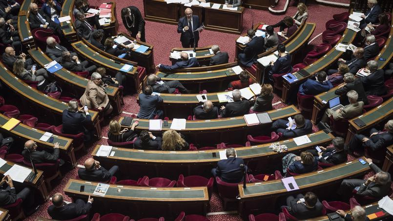 Michel Sapin à l'Assemblée nationale, ce jeudi.