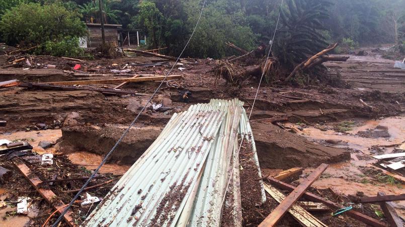 nouvelle caledonie glissements de terrain