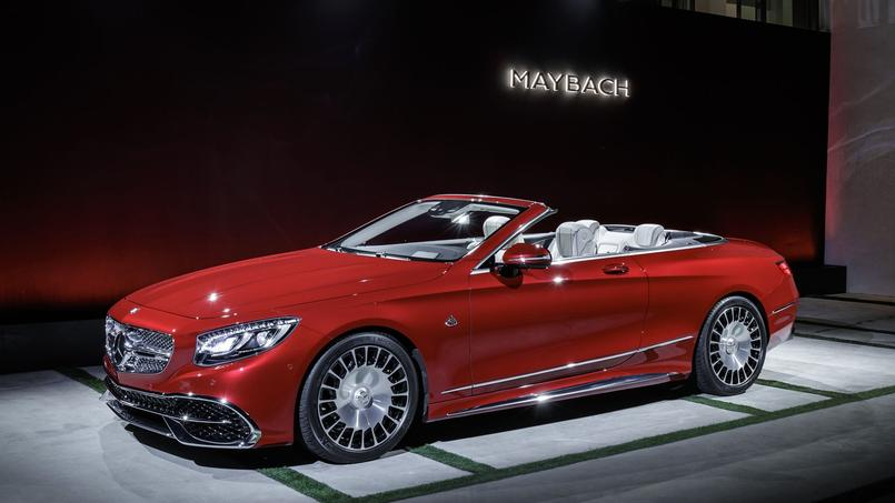 mercedes maybach s 650 cabriolet le luxe en s rie limit e. Black Bedroom Furniture Sets. Home Design Ideas
