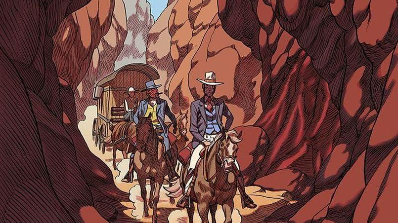 «Le western m'a toujours attiré, explique au Figaro le dessinateur de L'Odeur des garçons affamés Frederik Peeters, justement parce que ce genre cinématographique par excellence comporte des codes très précis. Quand il y a des codes, on peut les casser, jouer d'une certaine irrévérence.»
