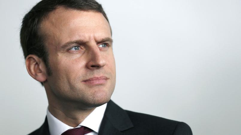 Emmanuel Macron à Paris, le 21 novembre 2016.
