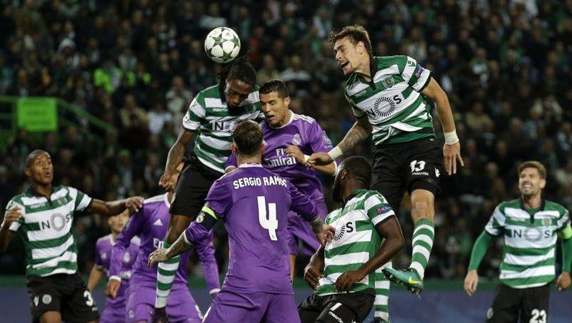 Douglas Ross était au Portugal mardi pour arbitrer le match Sporting Portugal-Real Madrid.