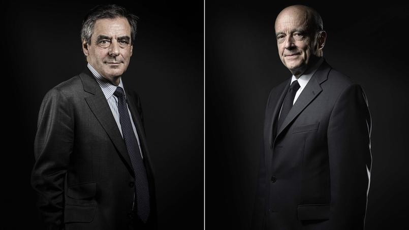François Fillon et Alain Juppé.