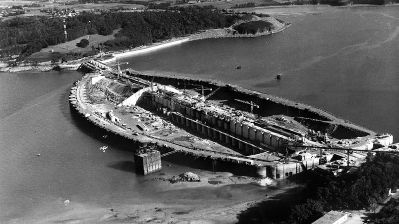 Il y a 50 ans l inauguration de l 39 usine mar motrice de la rance - Usine imerys en france ...