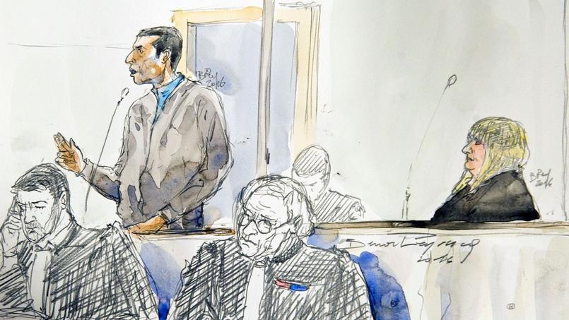 Cécile Bourgeon, le 5 septembre, au tribunal de Riom (Puy-de-Dôme).