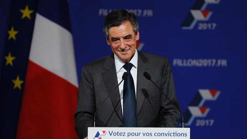 François Fillon porte de Versailles, vendredi 25 novembre 2016.