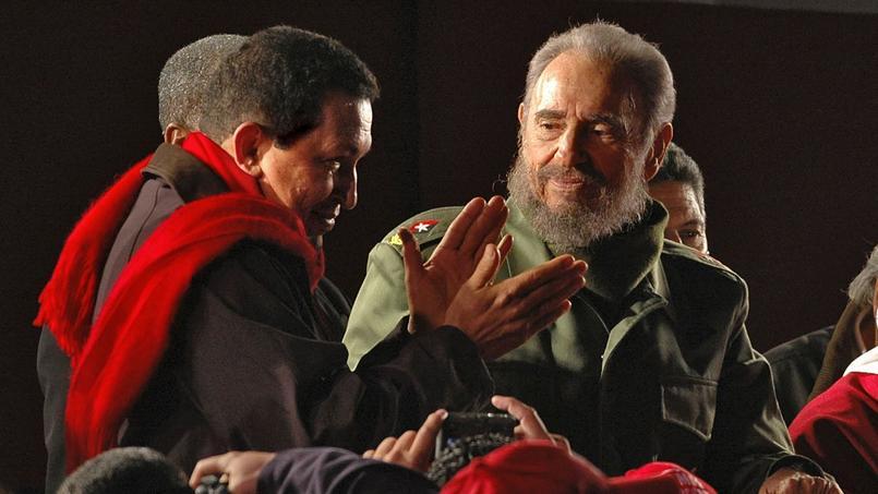 Hugo Chavez se rêvait en successeur de Fidel Castro comme leader de l'opposition internationale à Washington. Mais il est mort avant lui.