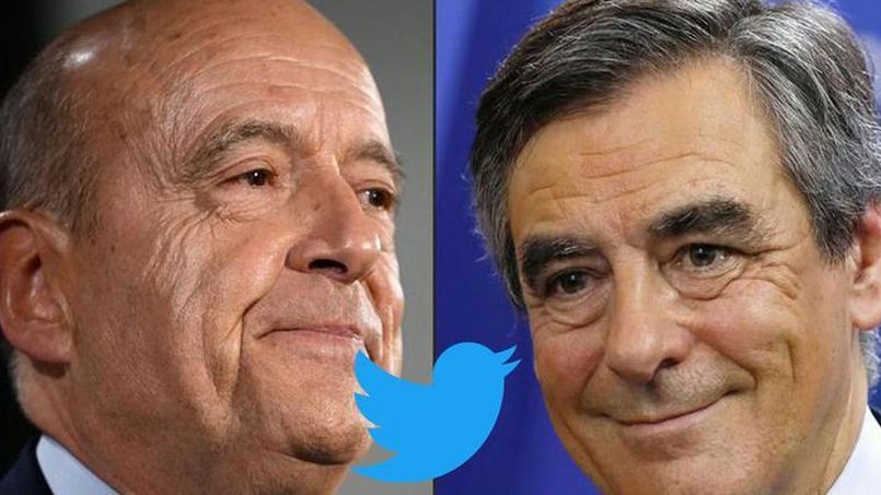 Alain Juppé et François Fillon se sont (aussi) affrontés sur Twitter.