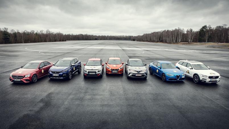 Les sept finalistes ont été choisis parmi une liste de 30 véhicules.