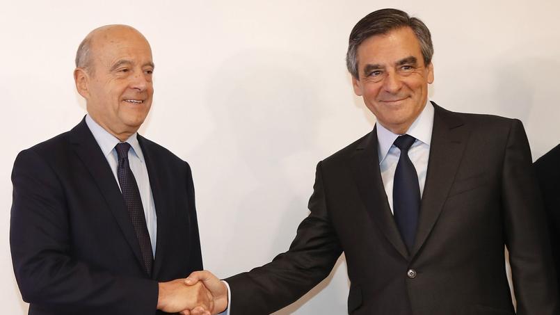 Alain Juppé et François Fillon se sont réunis au siège de la Haute autorité de la primaire de la droite et du centre.