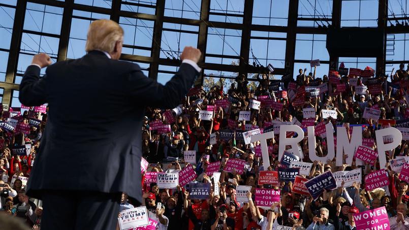 Le président élu Donald Trump, le 7 novembre, à Raleigh en Caroline du Nord.