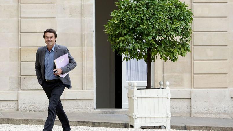 Nicolas Hulot à l'Élysée, le 18 juin 2015.
