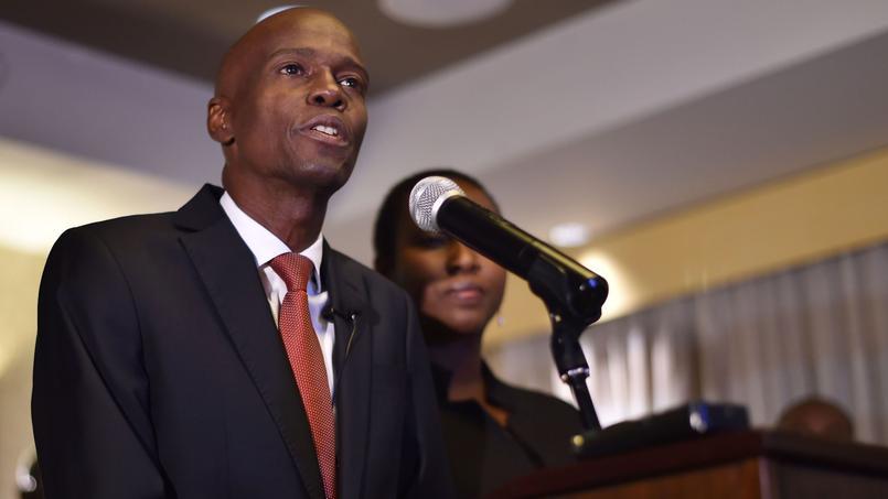 Jovenel Moïse, nouveau président haïtien.