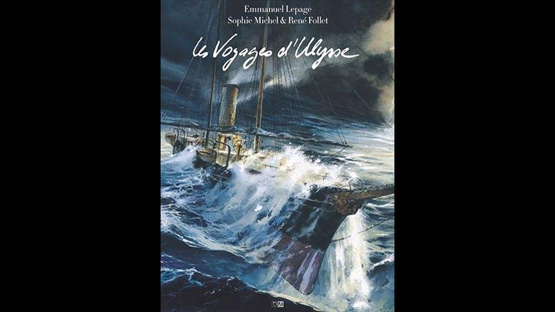 Les voyages d'Ulysse d'Emmanuel Lepage, qui revisite L'Odyssée d'Homère, a reçu lundi le grand prix de la critique ACBD.