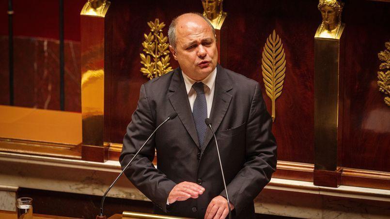 Le président du groupe socialiste à l'Assemblée nationale, Bruno le Roux. Crédits Photo: François BOUCHON/LE FIGARO.