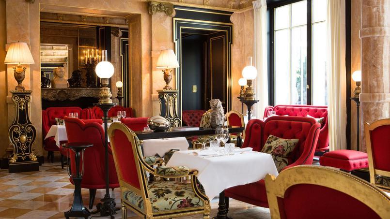 La Pagode de Cos à l'hôtel La Réserve (Paris VIIIe).