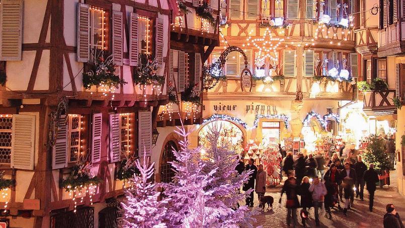 La rue des Marchands, à Colmar.