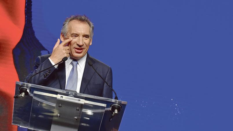 François Bayrou à l'université d'été du MoDem, le 25 septembre à Guidel (Morbihan).
