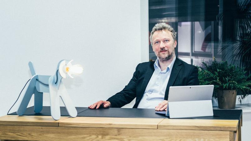 Vincent Maillard, cofondateur de Plüm Energie.