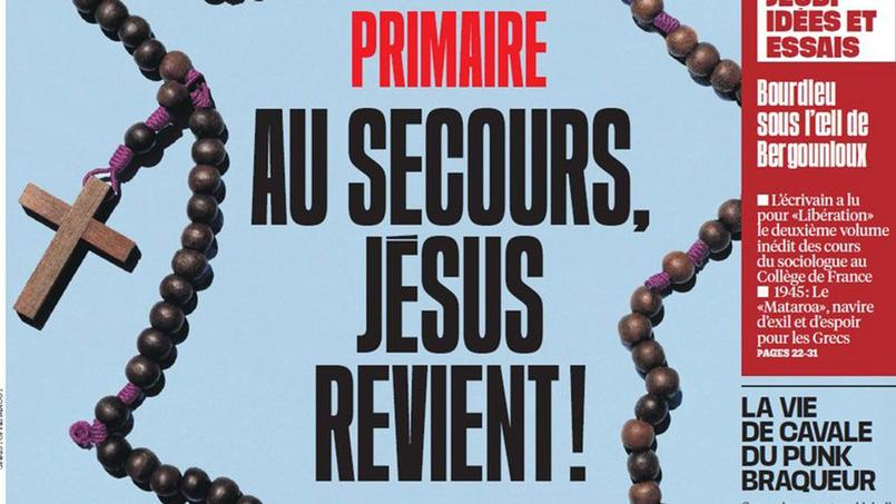 Une «une» récente du journal Libération.