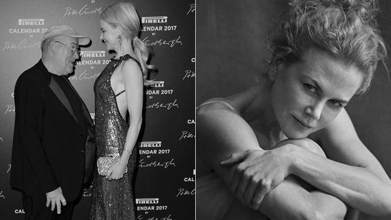 Le photographe Peter Lindbergh a photographié chastement les plus belles actrices ( Uma Thurman, Nicole Kidman, Charlotte Rampling, Lupita Nyong'o...) pour le Calendrier Pirelli 2017.