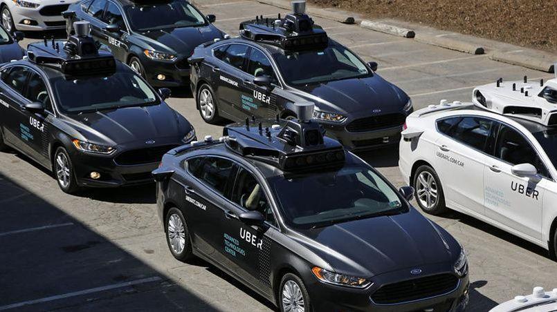 Les voitures autonomes d'Uber