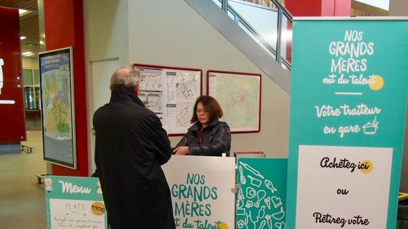 L'entreprise Nos grands-mères ont du talent ouvrira prochainement un kiosque dans la gare Montparnasse.