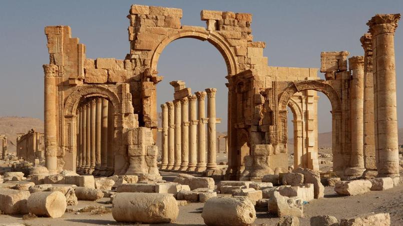 L'antique cité de Palmyre, en Syrie, le 14 mars 2014.