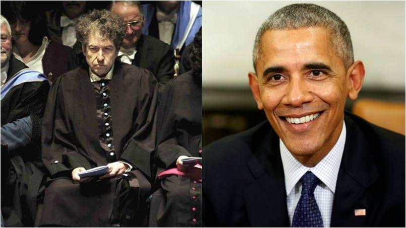 «Malheureusement, Bob Dylan ne sera pas à la Maison Blanche aujourd'hui», a déclaré le porte-parole du président américain mercredi 30 novembre. Reuters.