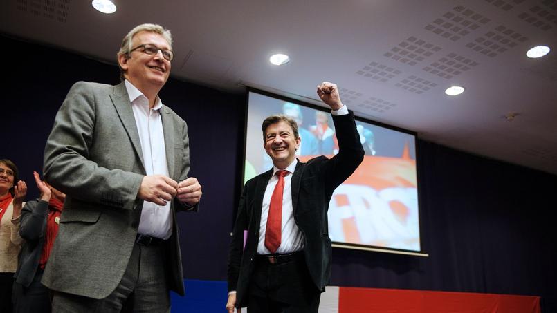 Pierre Laurent et Jean-Luc Mélenchon