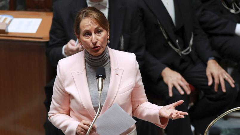 Ségolène Royal, ministre de l'Écologie, du Développement durable et de l'Énergie, mardi à l'Assemblée nationale.