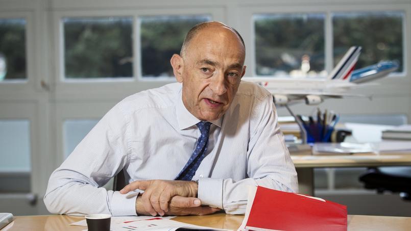 Jean-Marc Janaillac, PDG d'Air France-KLM.