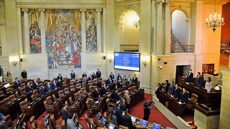 Le Congrès colombien, le 30 novembre.