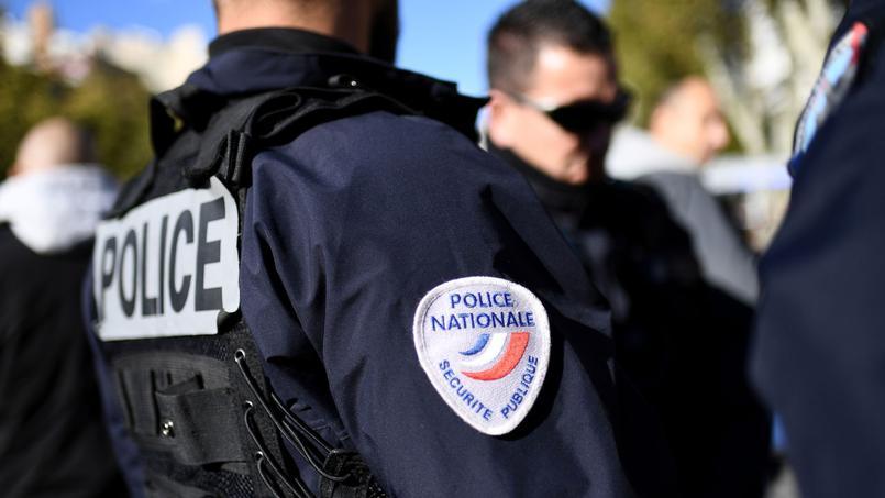Un policier, à Marseille, le 8 novembre dernier.