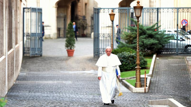Le Pape François dans les rues du Vatican