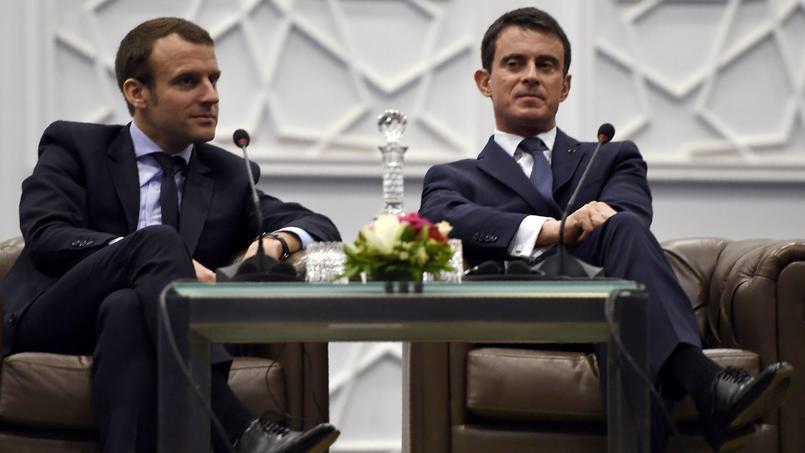 Emmanuel Macron et Manuel Valls se font la guerre depuis des mois. Ils vont désormais s'affronter dans la campagne présidentielle.